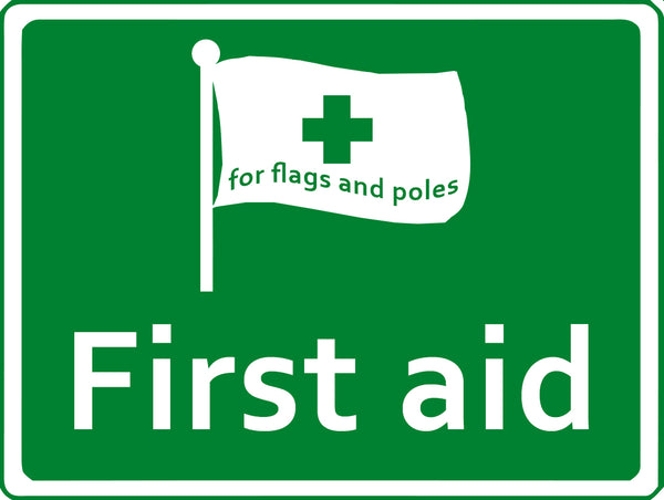 First aid for flags and poles Red Dragon Flagmakers