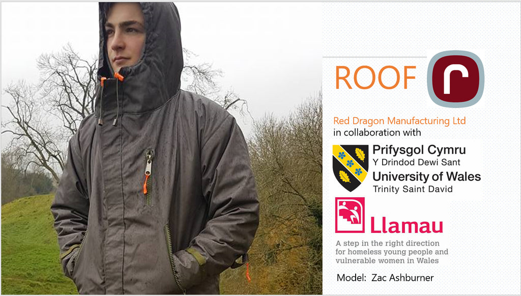 UWTSD Red Dragon Flagmakers Llamau ROOF collaborators