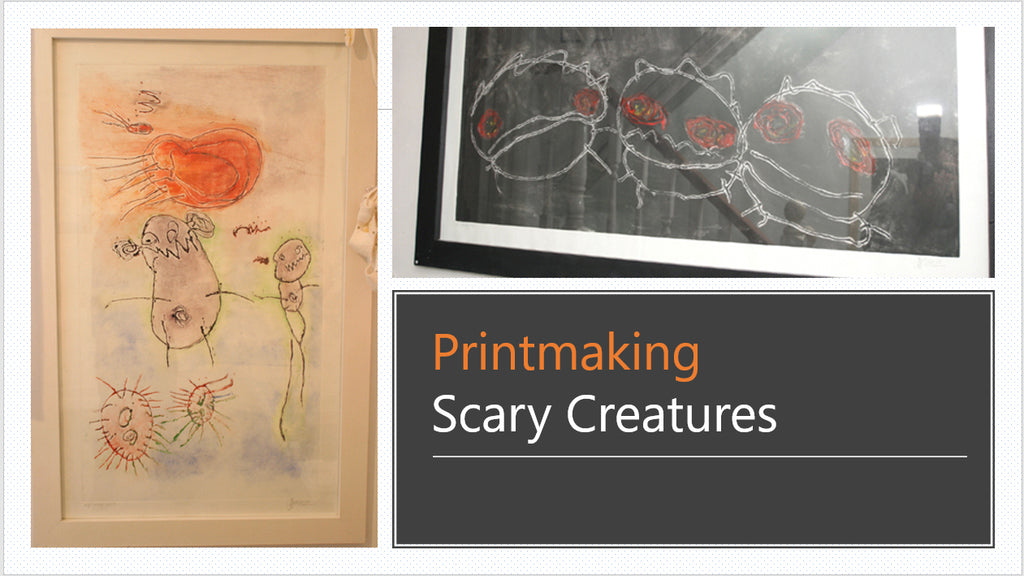 Scary creatures Jo Ashburner Farr Grad show Grand Theatre Swansea