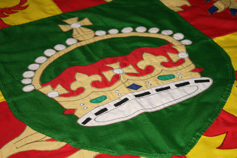 Applique by red dragon flagmakers