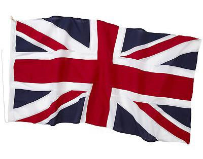 Stitched Union Jack flag by Red Dragon Flagmakers
