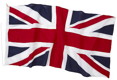 Union jack stitched flag by Red Dragon Flagmakers