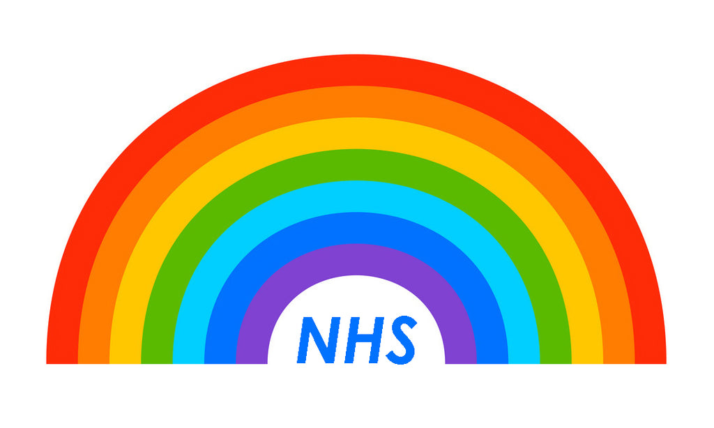NHS thank you (rainbow)