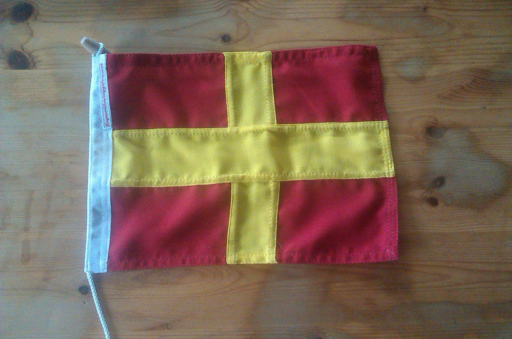 Signal Code Flag Romeo - Red Dragon Flagmakers