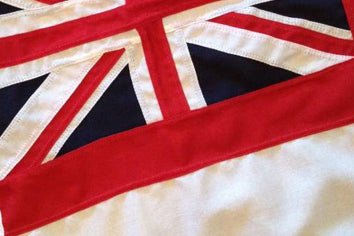White ensign 2 yarder (Flag Locker)