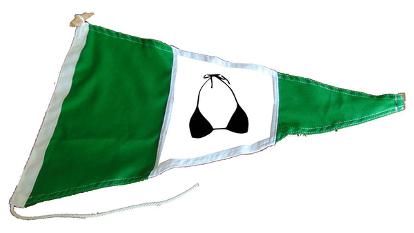 Bra pennant (girls on board)