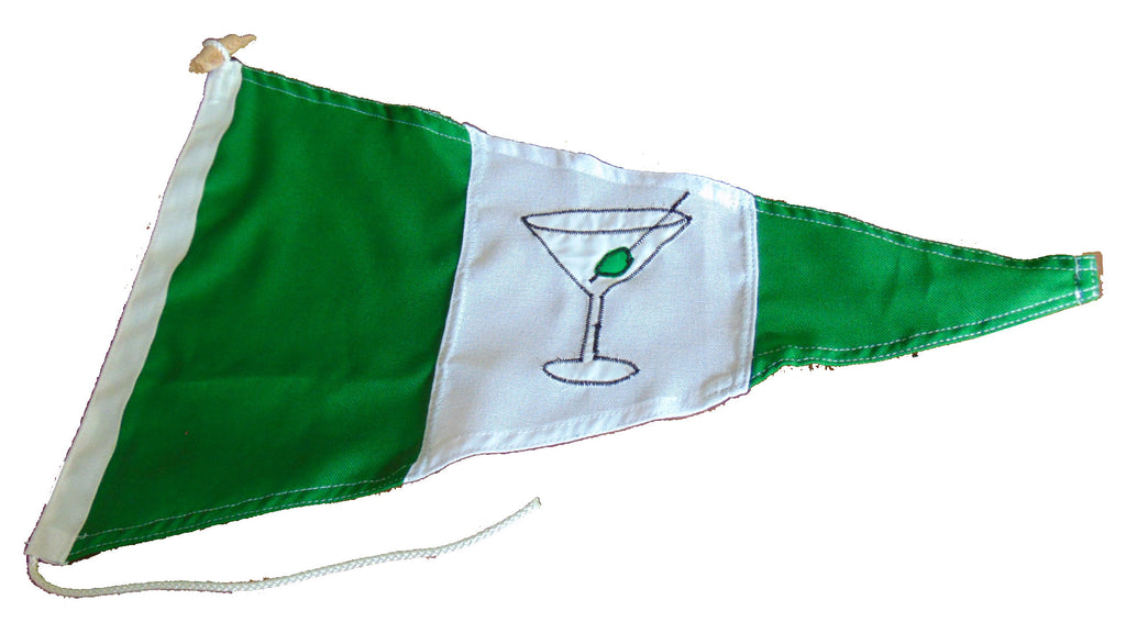 Gin Pennant Flag - Red Dragon Flagmakers