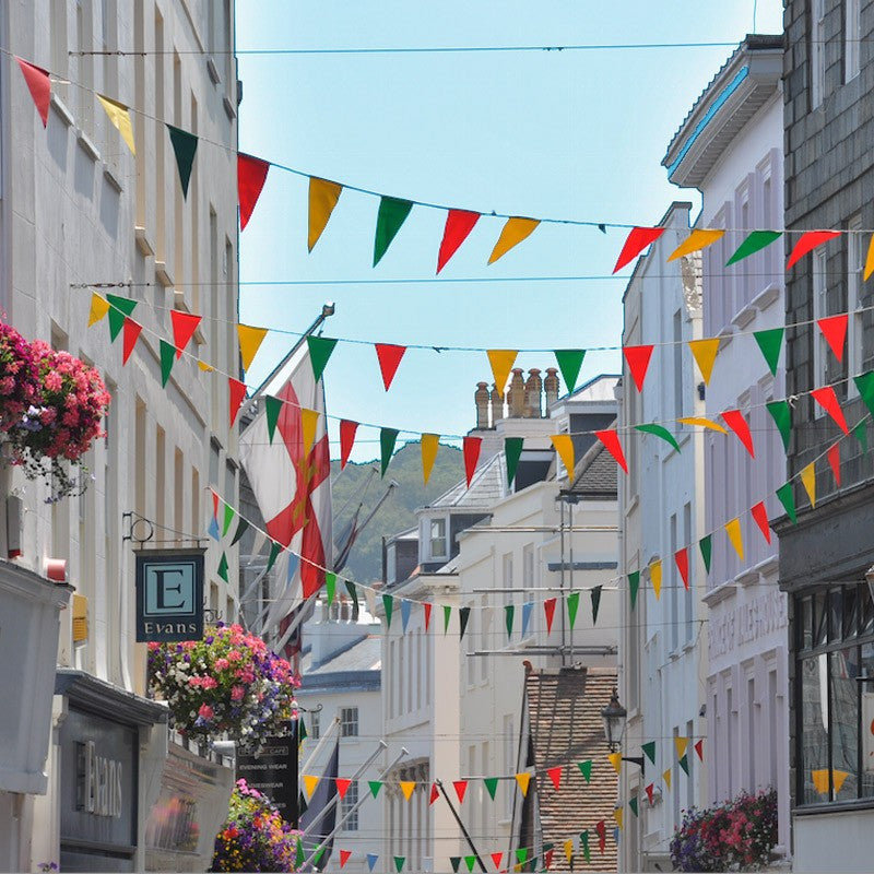 Hanging Bunting - Red Dragon Flagmakers