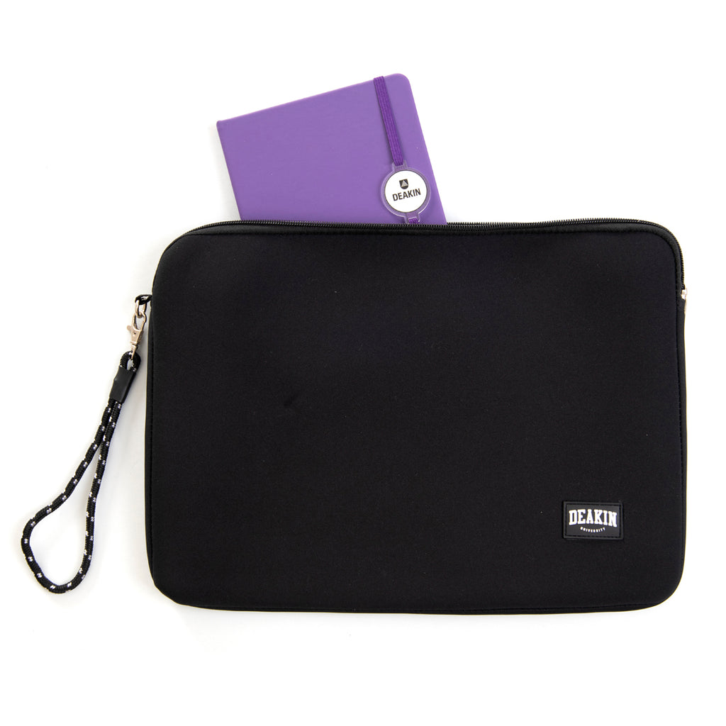 "Neoprene Laptop case 15"" Black"