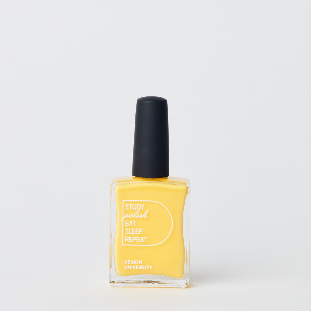 Nail polish - Deakin yellow