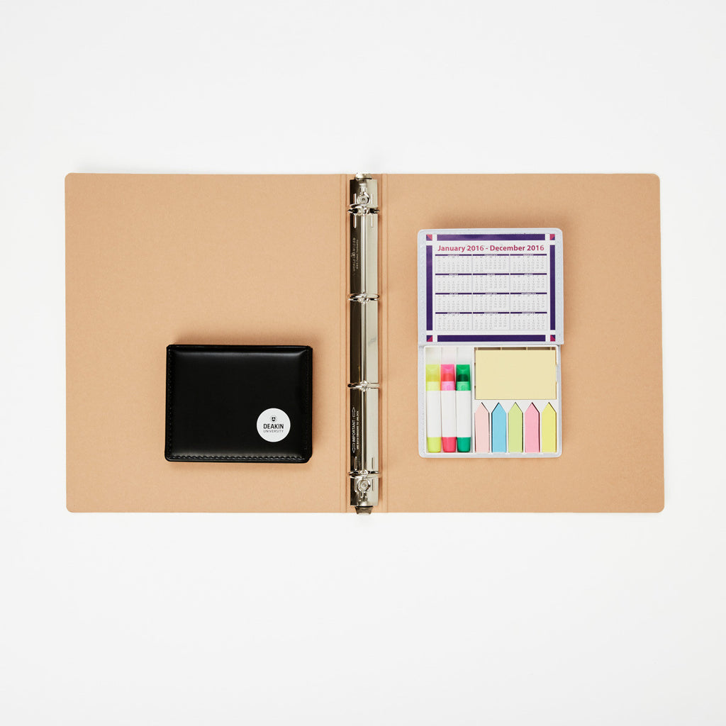 Note holder set