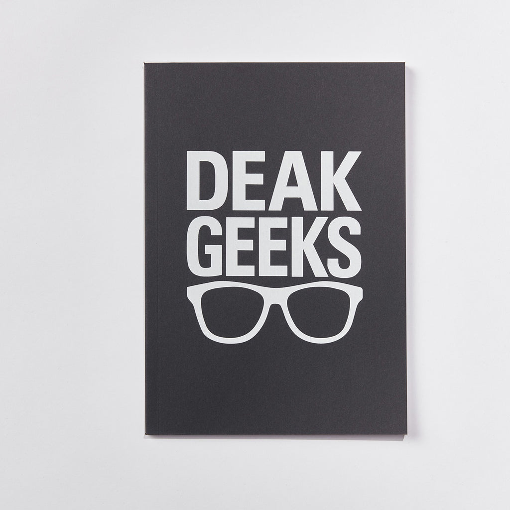 A4 Deak Geeks Notebook
