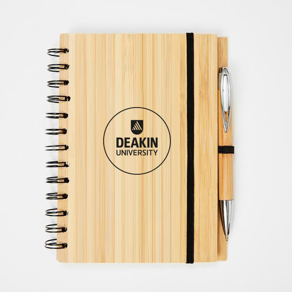 Bamboo notebook