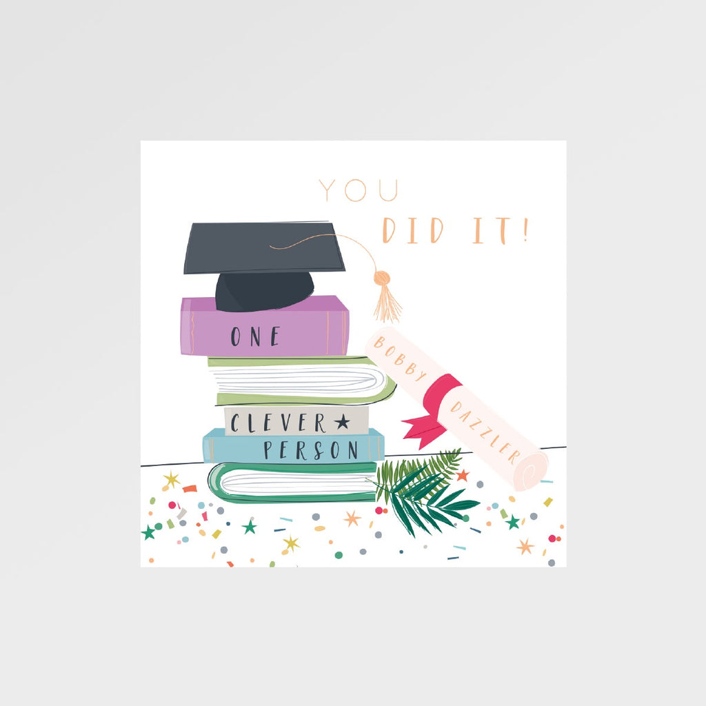 Graduation Card - Bobby Dazzler