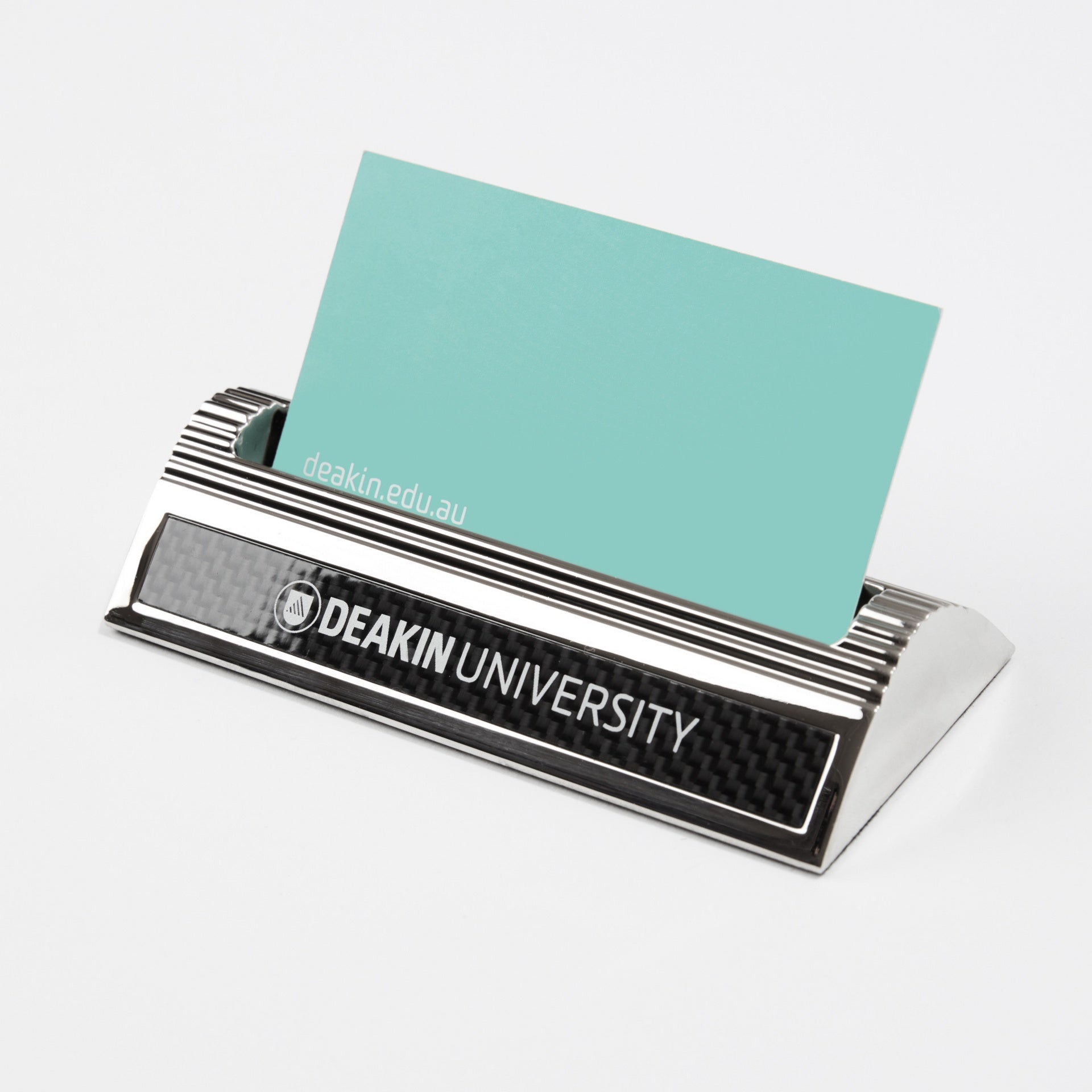 Carbon fibre business card holder deakin university shop carbon fibre business card holder reheart Gallery
