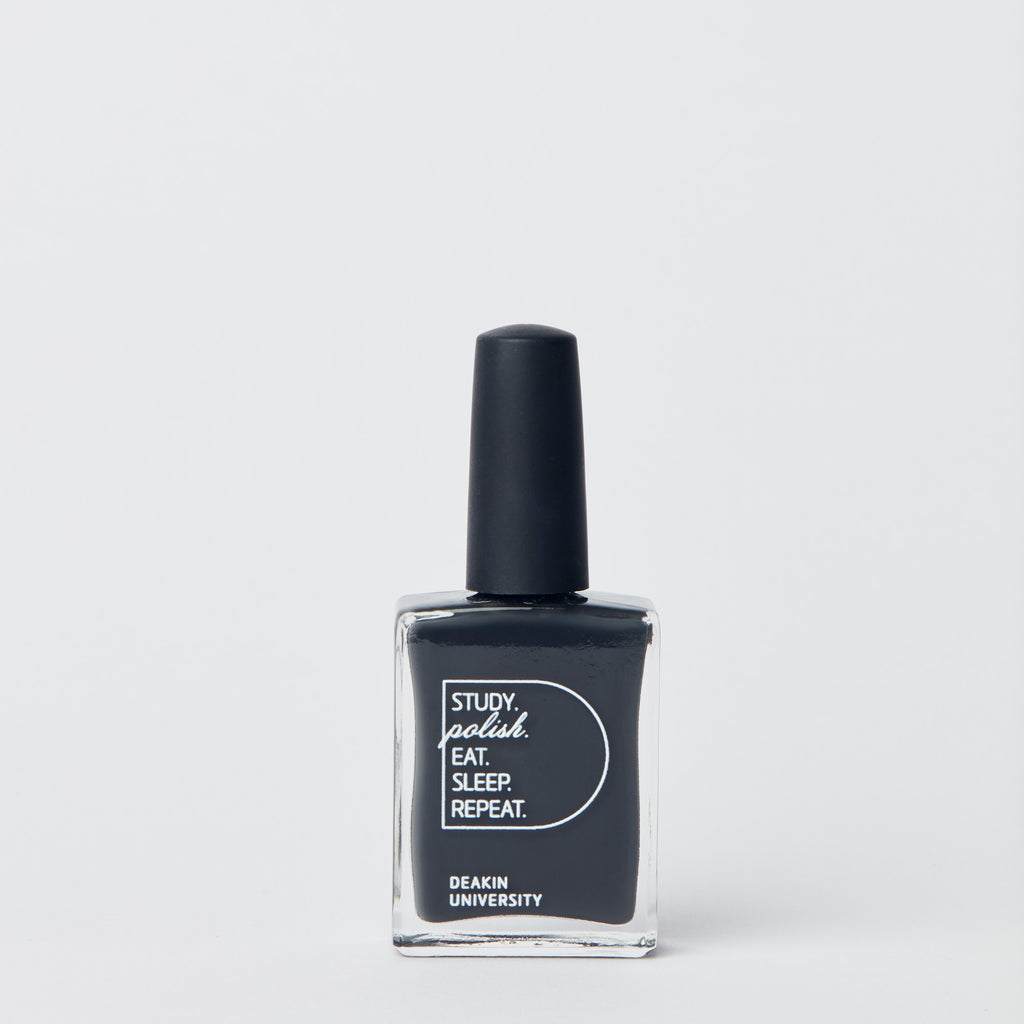 Nail polish - Deakin charcoal