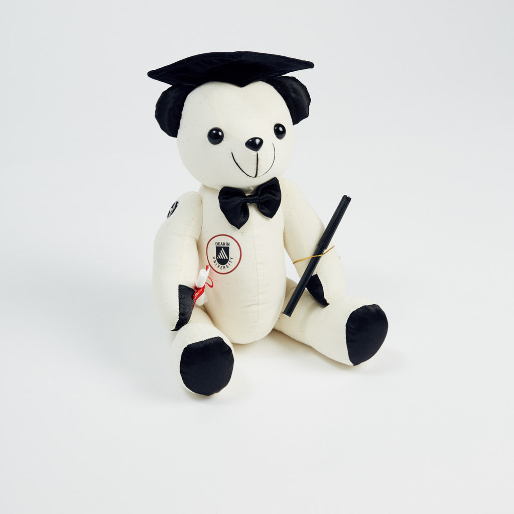 Graduation bear - signature