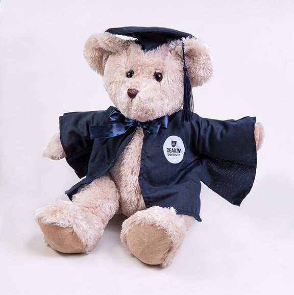 Graduation bear  - large Archie