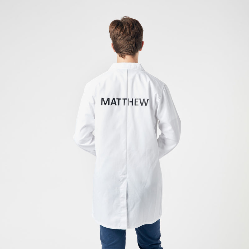 Lab coat - embroidered logo