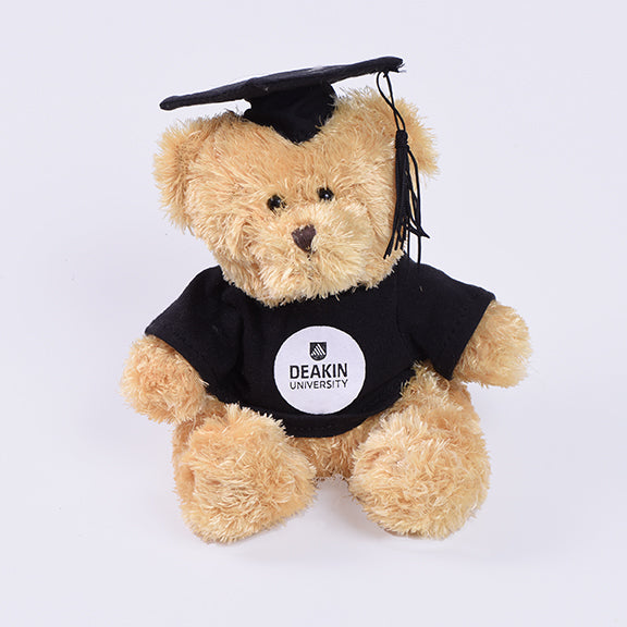 Graduation bear - small Goldie