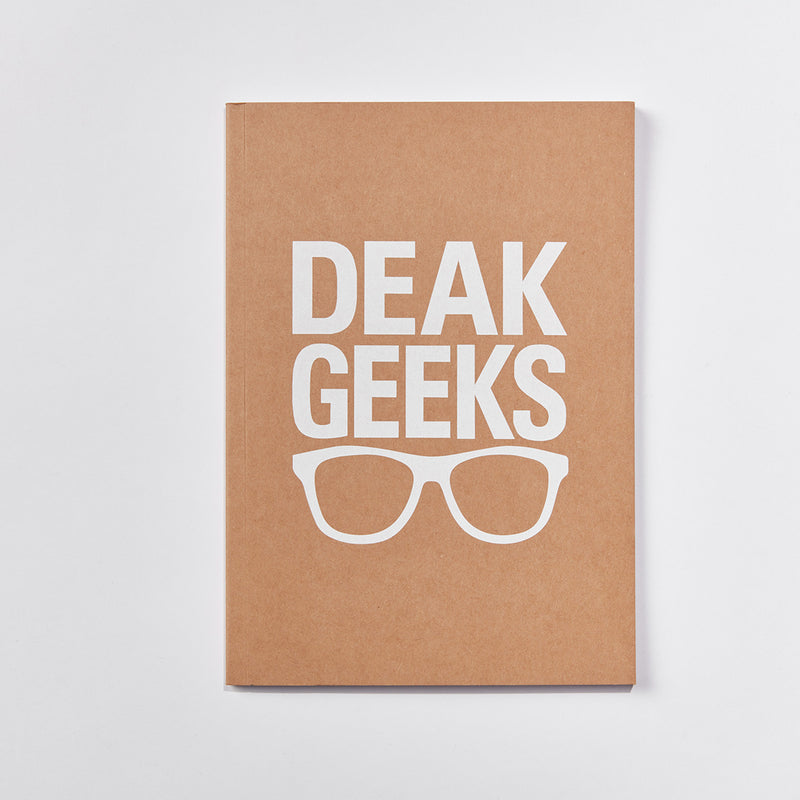 A5 Deak Geeks Notebook
