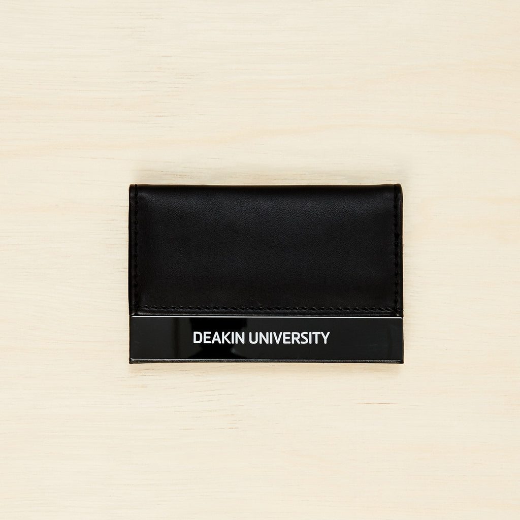 Vinyl business card holder