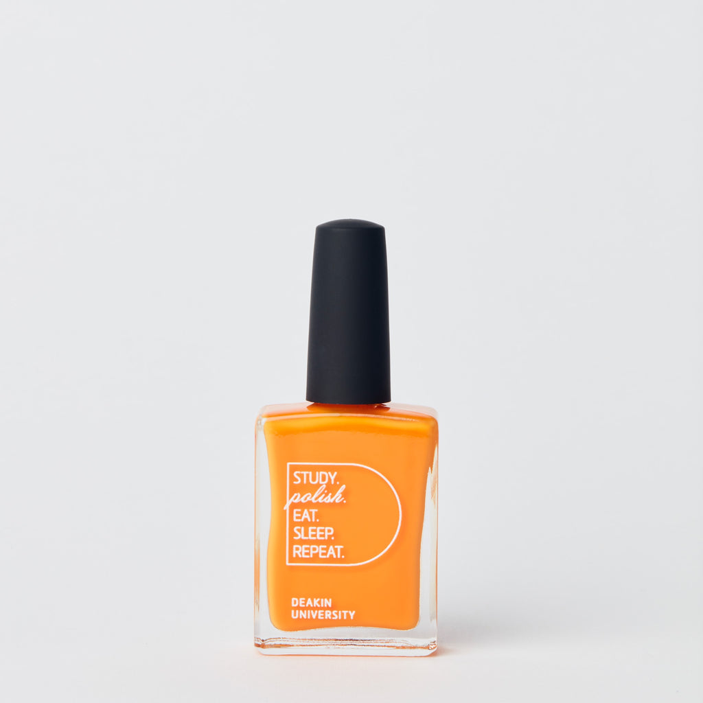 Nail polish - Deakin orange