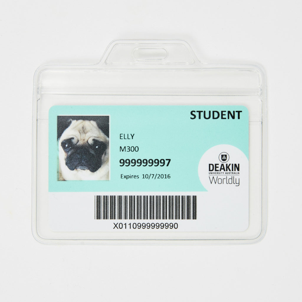 ID Card Holder - Plastic