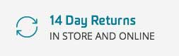 Free Returns In-Store and Online