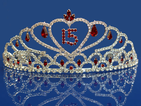 Quinceanera 15 Birthday Tiara Crystal Princess 1483F7