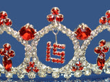 Quinceanera 15 Birthday Tiara Crystal Princess 1899F7
