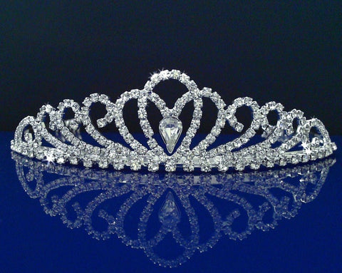 SparklyCrystal Rhinestone Bridal Wedding Prom Crystal Crown Tiara 24326