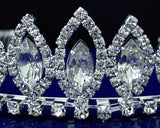 SC Rhinestone Bridal Wedding Prom Tiara 24466