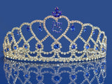 Quinceanera 15 Birthday Tiara Crystal Princess 3418F7