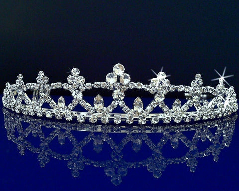 SparklyCrystal Bridal Wedding Prom Tiara Crown 3672