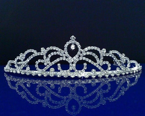 SparklyCrystal Bridal Wedding Prom Tiara Crown 52788