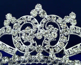 SC Tiara Comb With Three-Crystal Center 57235