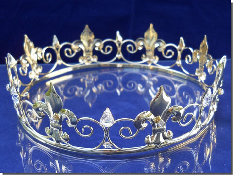 SparklyCrystal Gold Full King's Crown 60279