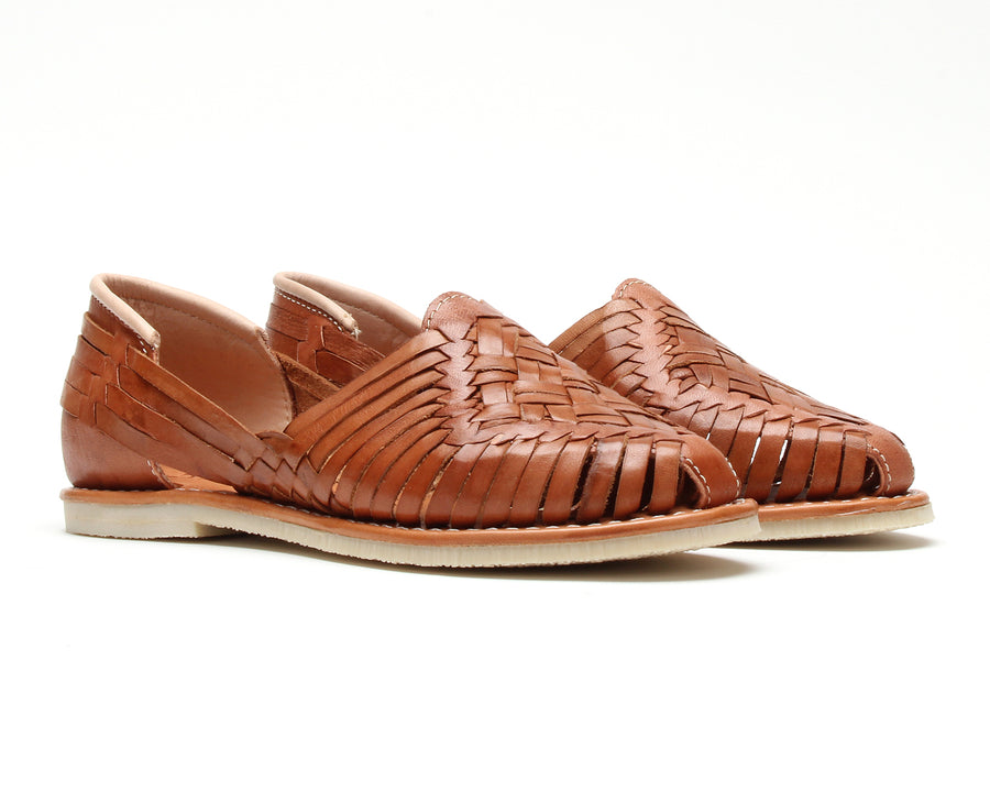 Huaraches Cross Woven Walnut