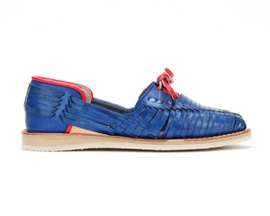 Bottomless Huaraches Royal Blue & Red