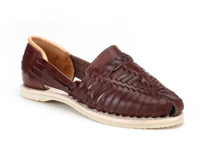 Catrinas Braided Huaraches Chocolate
