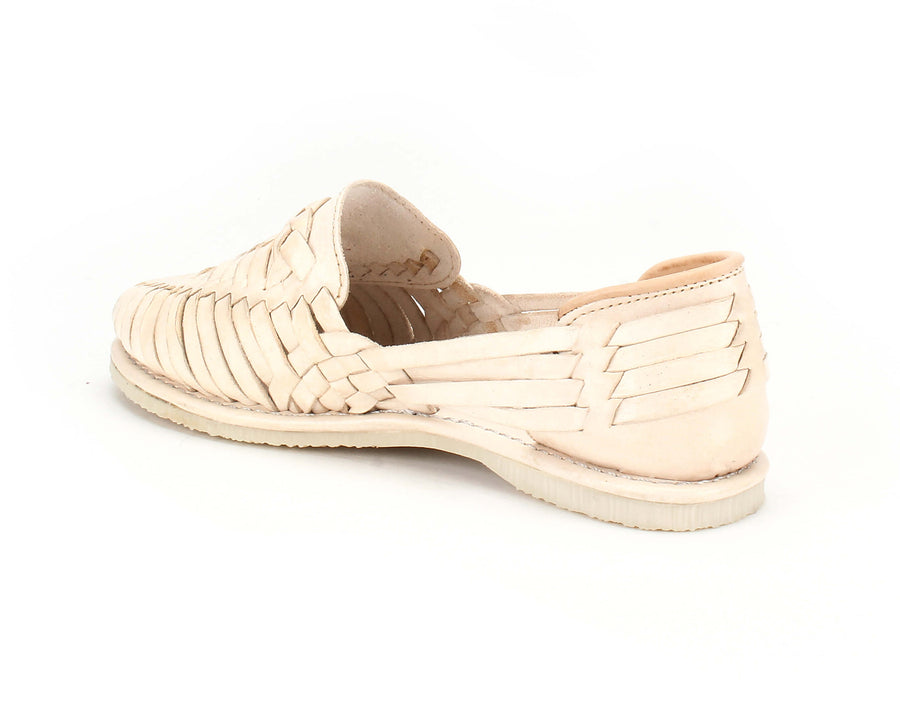 Catrinas Braided Huaraches Beige