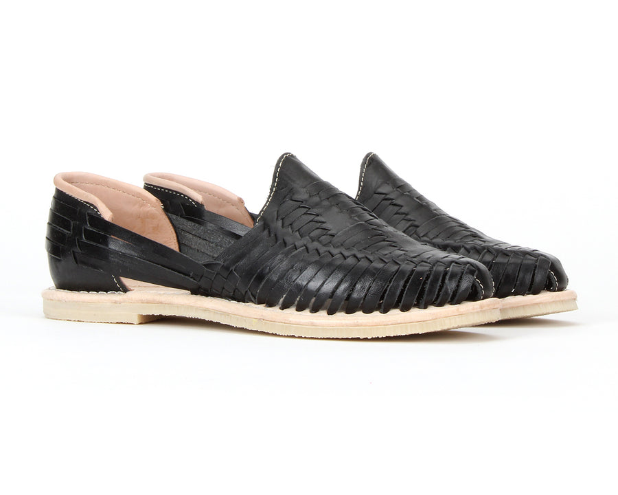 Catrinas Huaraches Black