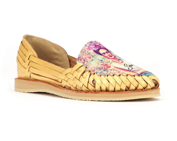 Mexican Huaraches Frida Diva Gold