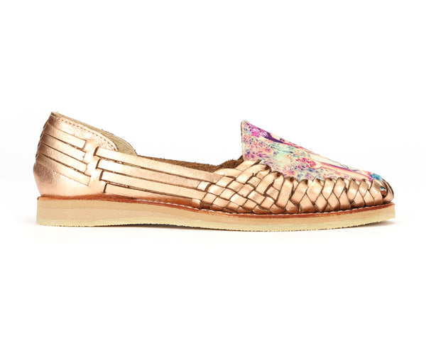 Mexican Huaraches Frida Diva Rose Gold