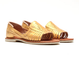 Bottomless Huaraches Julieta Gold
