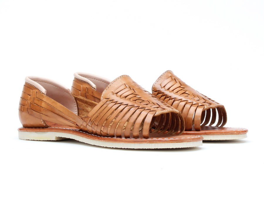 Bottomless Huaraches Julieta Sand