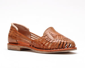 Bottomless Huaraches Ximena Walnut