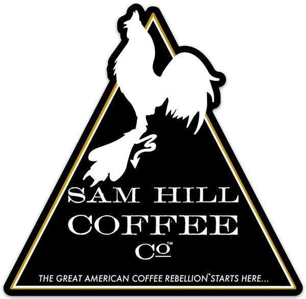 Original Logo Die Cut Sticker - sam-hill-coffee-company