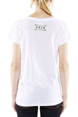 White V-Neck T-Shirt (Unisex)